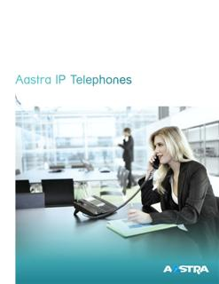 Aastra IP Telephones Brochure - Moore Enterprises