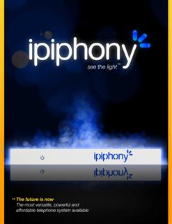 IPIPHONY User Brochure